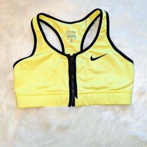 Nike Pro Dri-Fit Zip Front Sports Bra